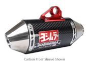 Yoshimura 2000-2014 Honda XR50 / CRF50F RS2 Full Exhaust System SS / CF (2205512)