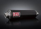 Yoshimura 2010-2012 BMW R1200GS RS3 Slip On Exhaust SS / CF EPA 80dBA (15000E5200)