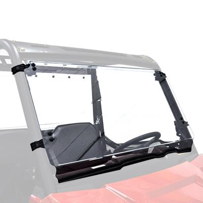 Kolpin Polaris Ranger UTV Full Tilt Windshield (.236 HC) / w/Clamps (2745)
