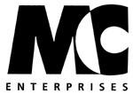 M/C Enterprises (129) Body Other Rear Fender Mini Racks for Cruisers - REAR MINI RACK VS1400 INTRUDER