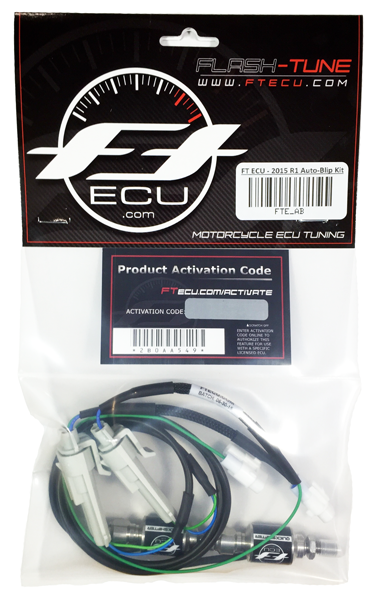 Flash Tune ECU Yamaha R1/ R1M/ R1S Auto Blip Clutchless Downshift Kit - YEC  (FT-FTE-AB)