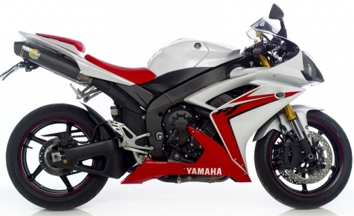 2007-2008 Yamaha R1 Leo Vince SBK Factory Evo II Slip-on Exhaust System -  Dual Canisters