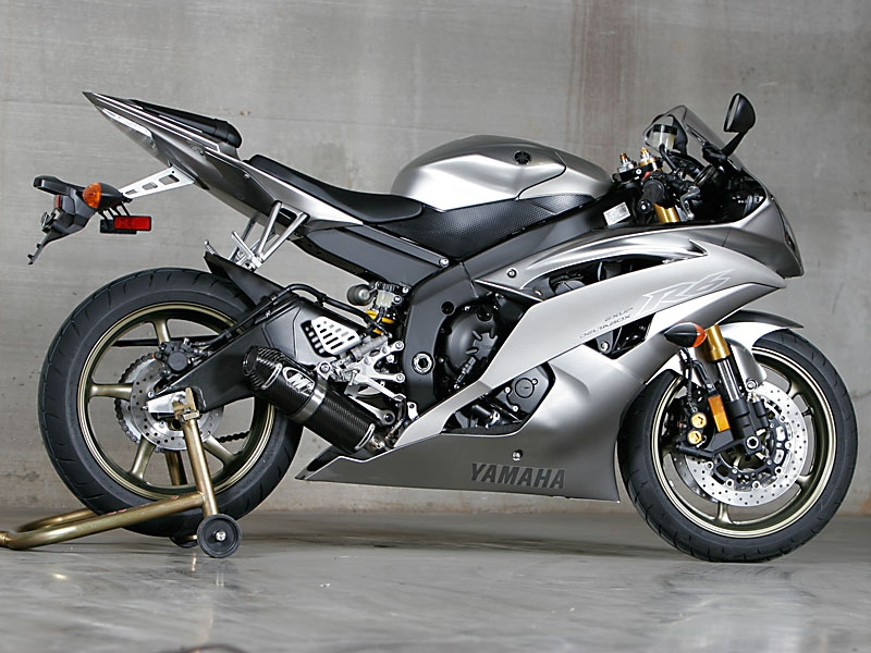 20062016 Yamaha R6 M4 Standard Mount Full Exhaust System W Stainless Steel Tubing: 2007 Yamaha R6 Exhaust System At Woreks.co