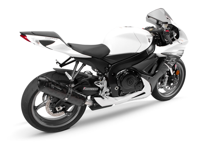 2011-2019 Suzuki GSXR750 Two Brothers Racing - Black Series (M-2) Slip On  Exhaust System