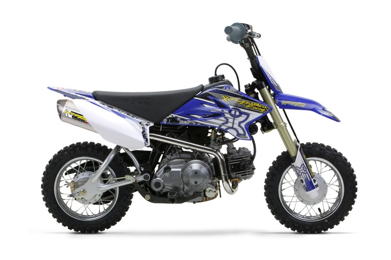 2005 2015 Yamaha Ttr50 Two Brothers Racing Full Exhaust System