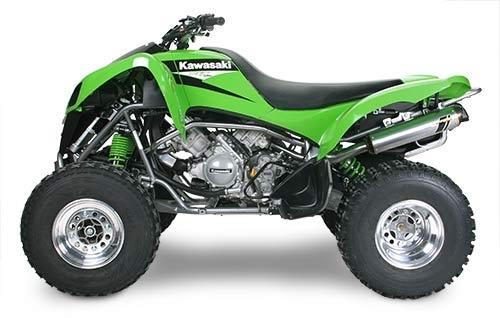 2004-2009 Kawasaki KFX700 Two Brothers Racing Full Exhaust System ...