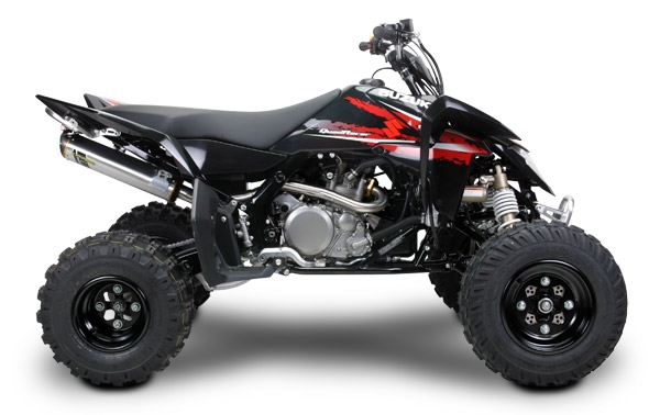bad901145f8 ... Suzuki LTR450 Quad Racer Two Brothers Racing Full Exhaust System  Standard Gold Series · Larger Photo ...