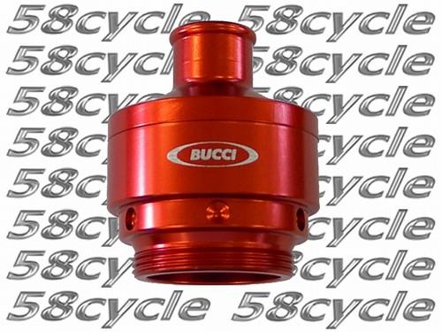 Ducati Bucci Crankcase Breather - Red