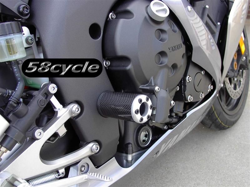 1999-2005 Yamaha R6 Carbon Fiber Inlay Clutch / Frame Slider with ...