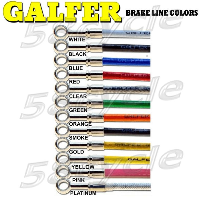 Gold Hose /& Stainless Banjos Pro Braking PBC2741-GLD-SIL Braided Clutch Line