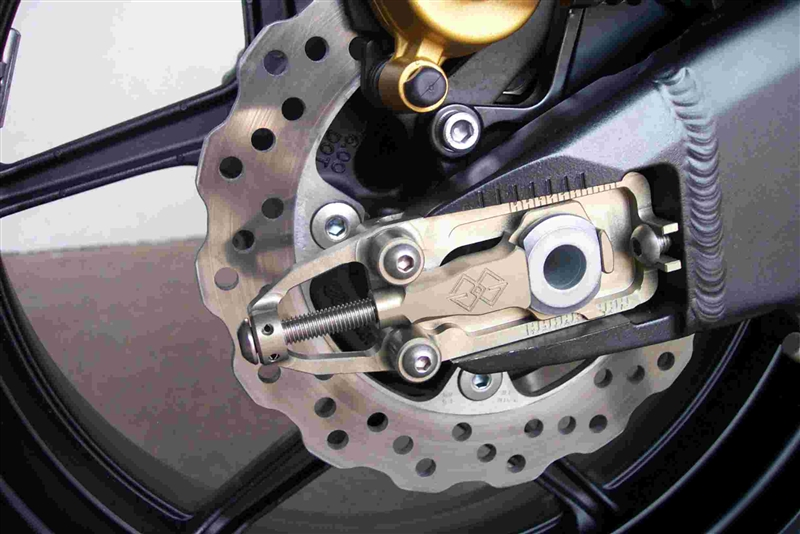 2005-2006 Ducati 999 Gilles GP Chain Adjusters