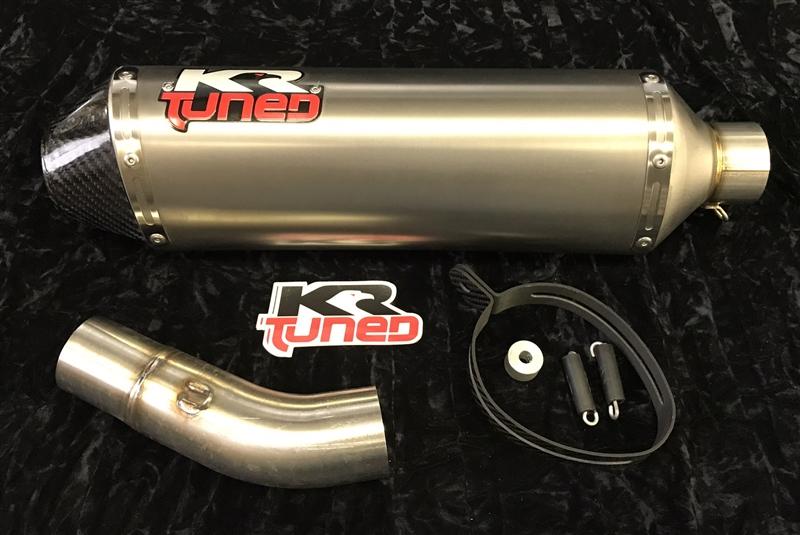 2008 2009 Kawasaki ZX10R KR Tuned SLIP On Exhaust System