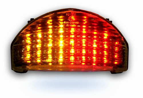 Lightworks 2004 2005 Kawasaki Zx10r Clear Tail Light With