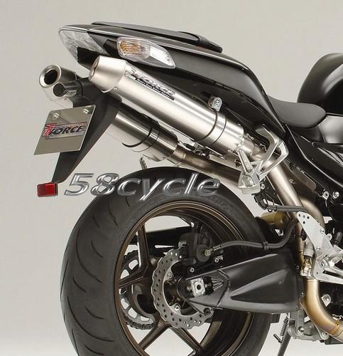 2006-2007 Kawasaki ZX10R TiForce Titanium Slip On Exhaust System - Cone End  Caps - $300 OFF RETAIL