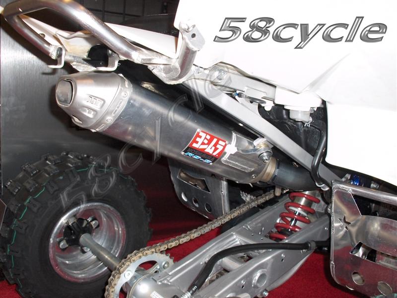 2006-2010 Suzuki LTR 450 Quad Racer Yoshimura RS5 Comp Series Full Exhaust  System (3115007350)