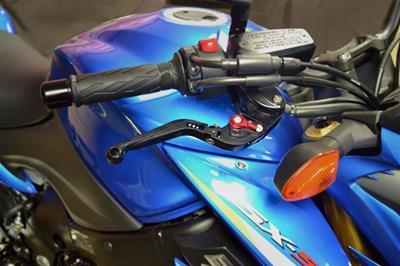 Hotbodies Racing Suzuki GSX-S 1000/1000F/ABS (2015-2017) MGP Brake & Clutch Levers - Lever Set - Black (61502-2600)