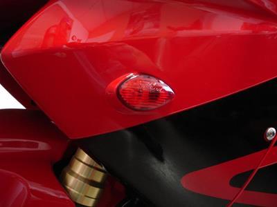 Hotbodies Racing H04RR-SIG-RED Lens Flush Mount Turn Signal