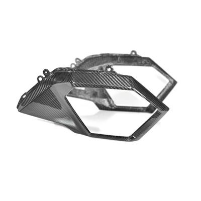Hotbodies Racing Honda MSX125 Grom (2017-2019) Carbon Fiber Front Side Cowl (41702-1506)