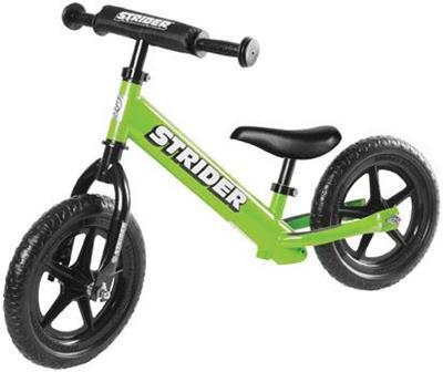 Strider Bikes (ST-S4GN) STRIDER 12 SPORT GREEN Toddler/Youth/Kids No-Pedal Balance Bike (for Learning to Ride)