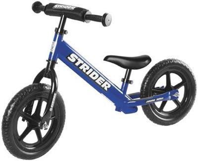 Strider Bikes (ST-S4BL) STRIDER 12 SPORT BLUE Toddler/Youth/Kids No-Pedal Balance Bike (for Learning to Ride)