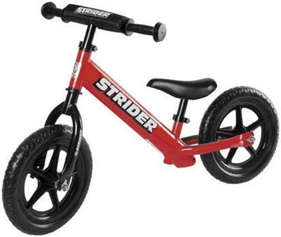 Strider Bikes (ST-S4RD) STRIDER 12 SPORT RED Toddler/Youth/Kids No-Pedal Balance Bike (for Learning to Ride)