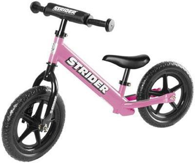Strider Bikes (ST-S4PK) STRIDER 12 SPORT PINK Toddler/Youth/Kids No-Pedal Balance Bike (for Learning to Ride)