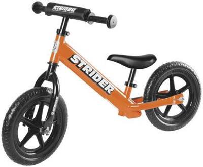 Strider Bikes (ST-S4OR) STRIDER 12 SPORT ORANGE Toddler/Youth/Kids No-Pedal Balance Bike (for Learning to Ride)