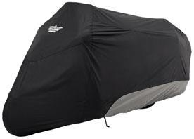 UltraGard (4-444BC) Covers Touring Cover - LARGE TOURING CVR - BLK/CHAR (TR PN 417619)