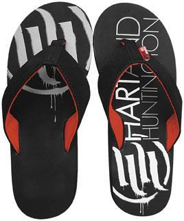 Smooth Industries (3000-010) Offroad Casual Accessories H&H FLIP FLOPS BLK SZ 10