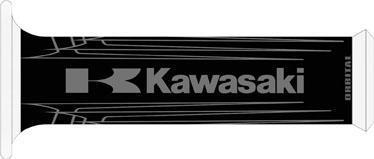 Orbital (3819 / 4602) ORBITAL GRIPS - Black KAWASAKI (TR PN 685614)