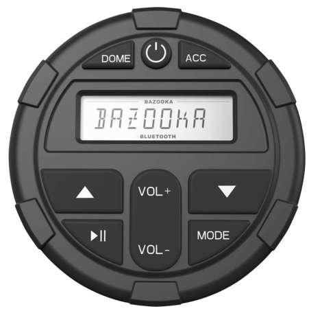 Bazooka (BPB-DBC-G2) ATV UTV Audio, Video & Navigation Dashboard Controller for G2 Party Bar Blk
